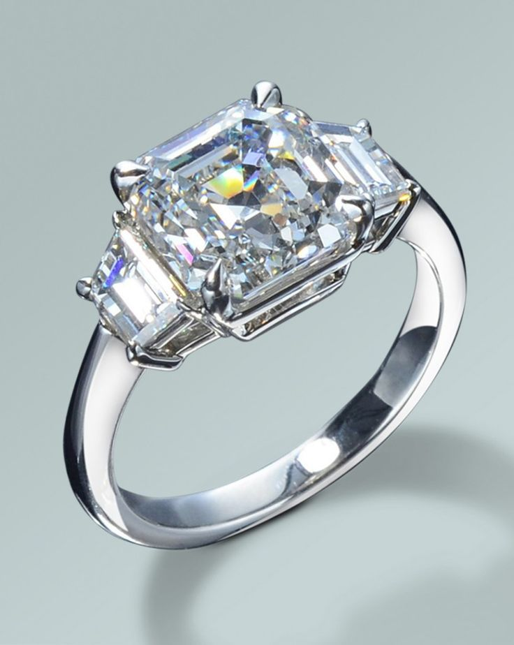 Asscher cut ring Royal Asscher My Fave Cut Pinterest