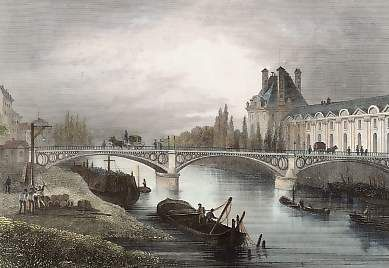 Le Pont du Carrousel #Paris #France
