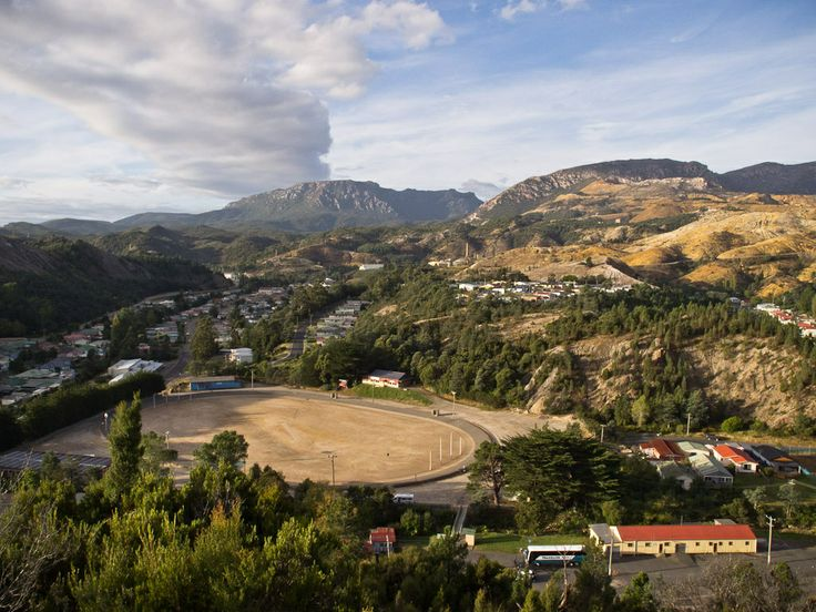 The unmistakeable site of Queenstown on Tasmania's West Coast. #queenstown #tasmania #discovertasmania Image Credit; Gary Sauer-Thompson