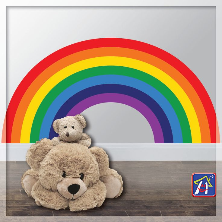 Rainbow Wall Decal   Rainbow Wall Decor   Kids Bedroom Rainbows   Rainbow  Room Decor