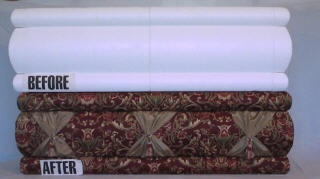 No Sew Valance Window Treatments