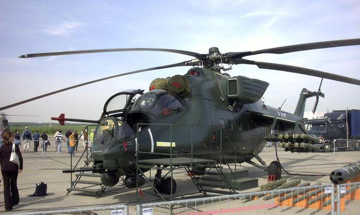 Ми-35М покорил Пакистан