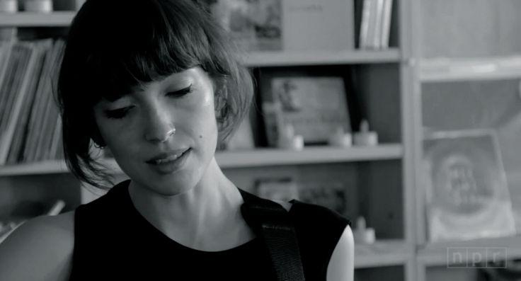 """"""" Elena Tonra of Daughter @ NPR Tiny Desk """""""