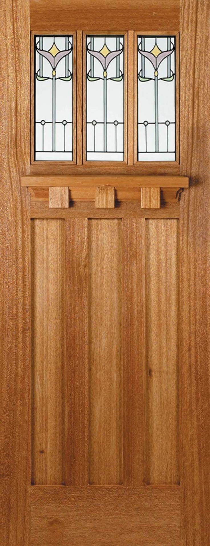Tuscany Tulip Double Glazed Hardwood External Doors