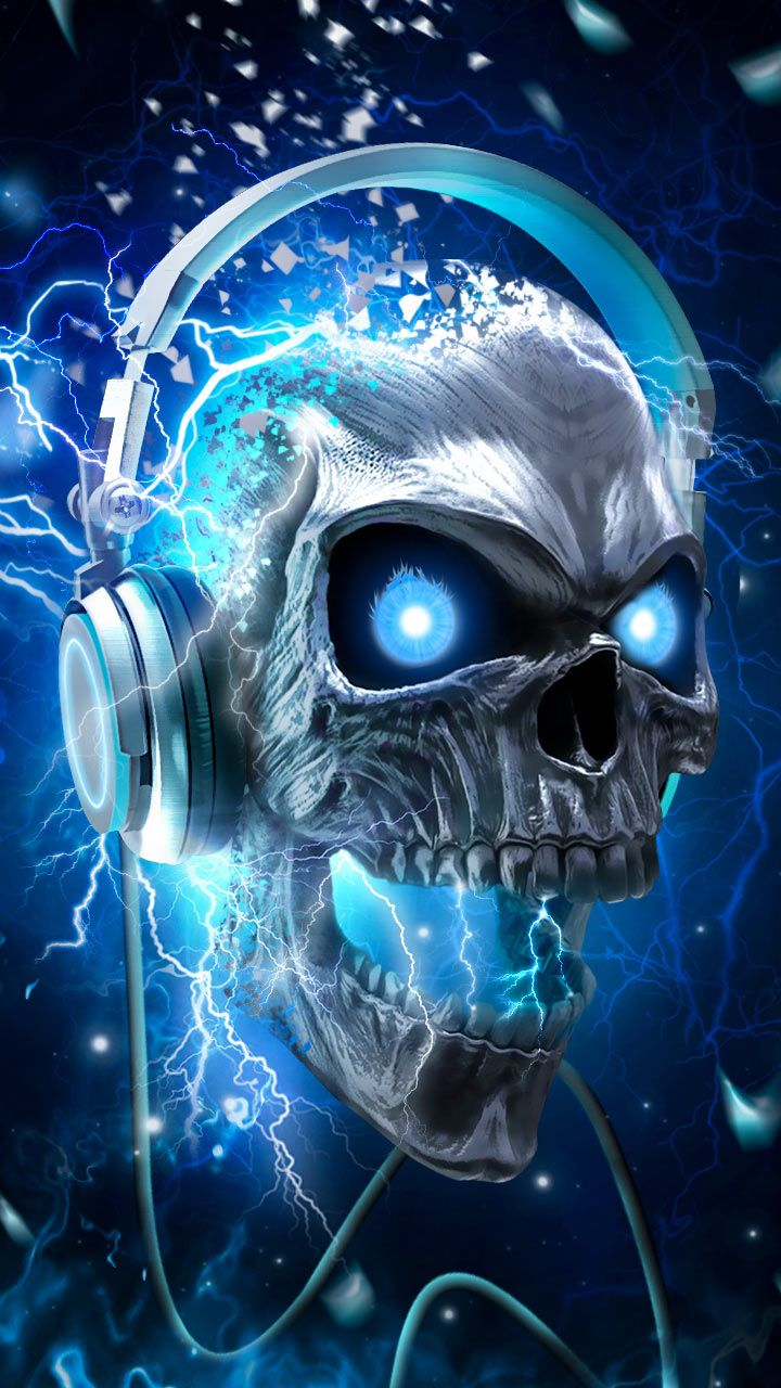How To Get A Joker Live Wallpaper Iphone X Skull Time Music Headphones Skullcandy Maybe How Many