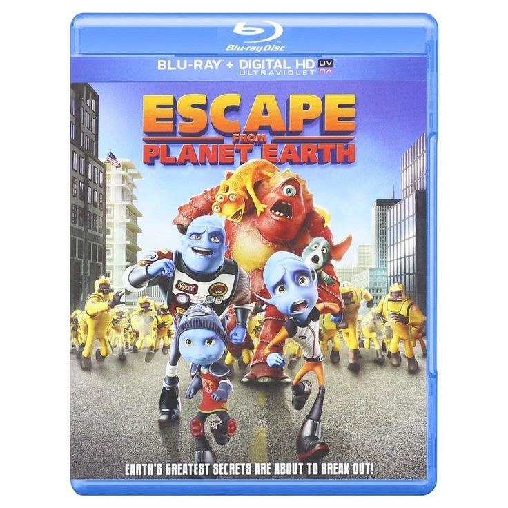 Escape from Planet Earth [4 Discs] [Includes Digital Copy] [UltraViolet] [2D/3D] [Blu-ray/DVD]