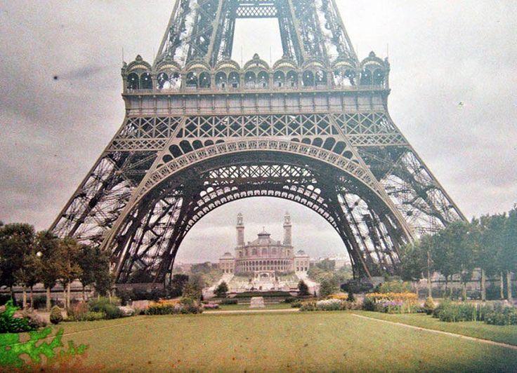 """Kebayang ngga,.? fotografer yang mengabadikan """"7 foto langka berwarna terbaik, kota Paris 100 tahun lalu""""."""