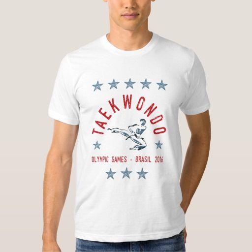 Taekwondo Olympic Games 2016 Collection Camisetas #tshirts #beastmode #taekwondo #olympics #martialarts