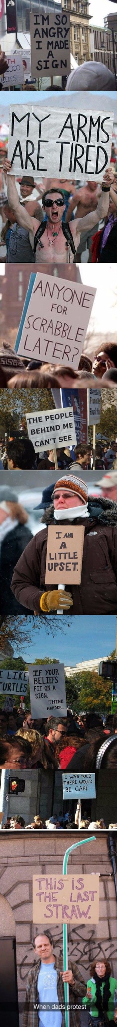 Hilarious Protest Signs Collection Picture