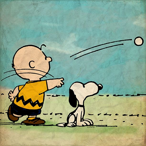 Tuesday with Snoopy and Charlie Brown.