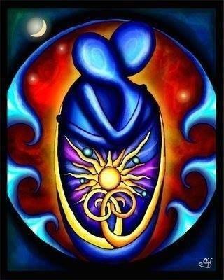 Ik ben op zoek naar een mens  Die me aankijkt en beluistert  Mijn naam noemt  Mijn ziel bemint.  Ik ben op zoek  Naar dat ene gelaat  Naar een hart  Dat me optilt,  Dat me méér maakt.  Ik ben op zoek  Naar jou  In mezelf  Bron der Wijsheid