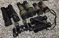 Vintage Binoculars 5 Pair Three Are Chevalier Two Unmarked