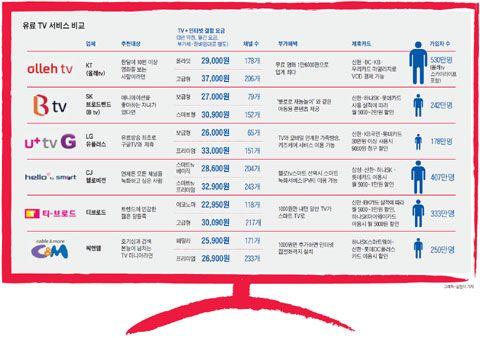 Korean IPTV Subscribers Stats