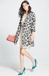 SJP 'Fawn' Pump, Betsey Johnson Trench Coat & Jessica Simpson Dress #sweepsentry