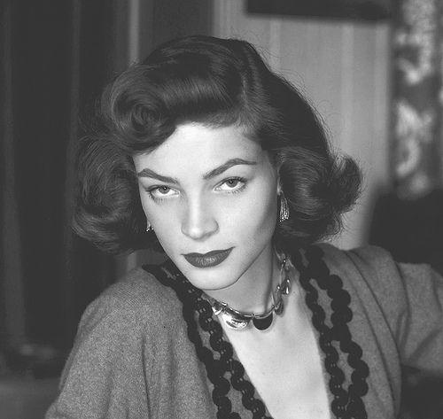 Fifties screen legend Lauren Bacall, born Betty Joan Perske |