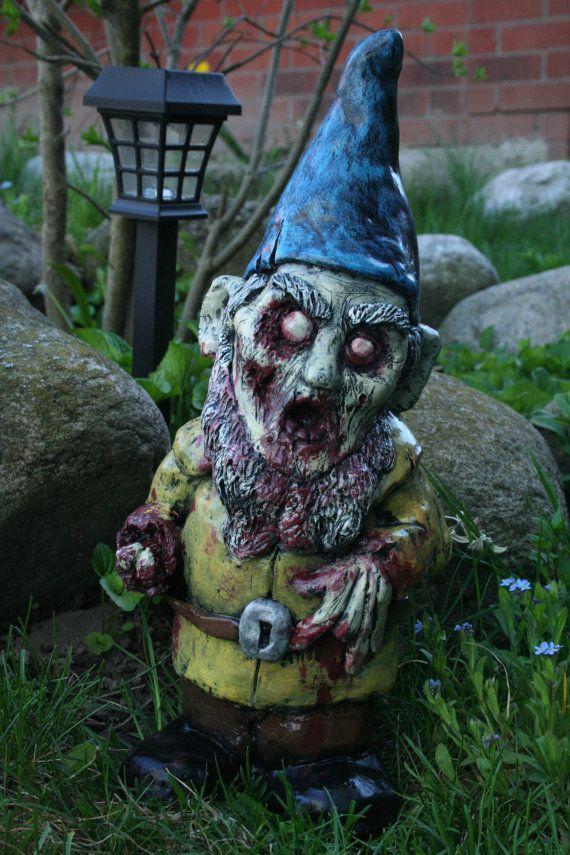 Gnome 4: Necro Neckbeard Zombie Gnome By RevenantFX On Etsy, $60.00