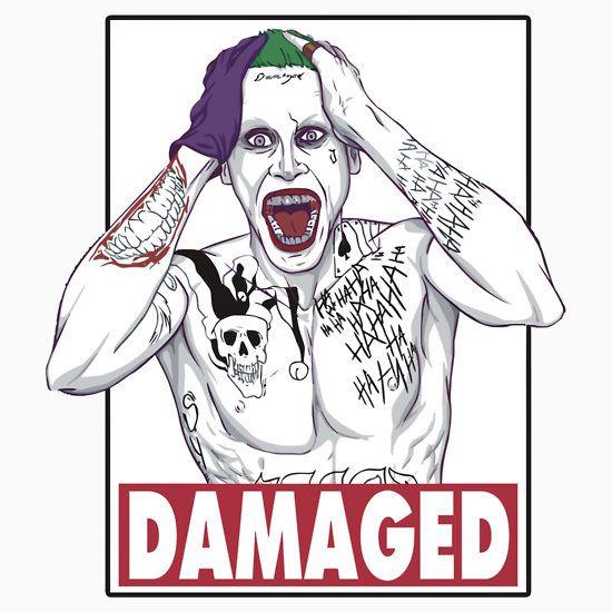Joker - Damaged ( color )