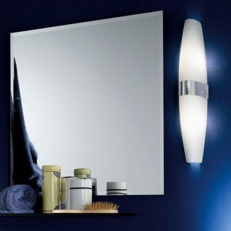 Φωτιστικό πολύφωτο καθρέπτη DAMIEL οπαλίνα λευκό