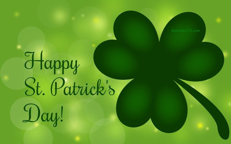 Happy Saint Patrick Day http://www.festivals123.com/2016/03/top-st-patricks-day-quotes.html