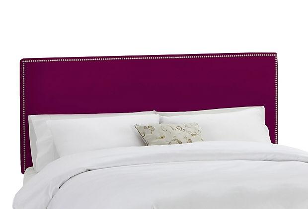 Royal Purple Headboard