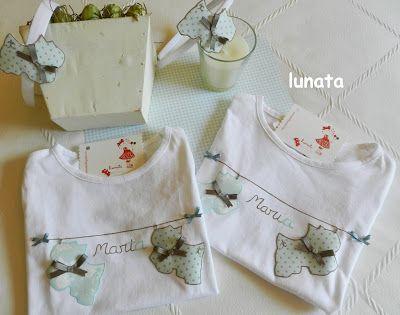 Mi lunata: camisetas y diademas