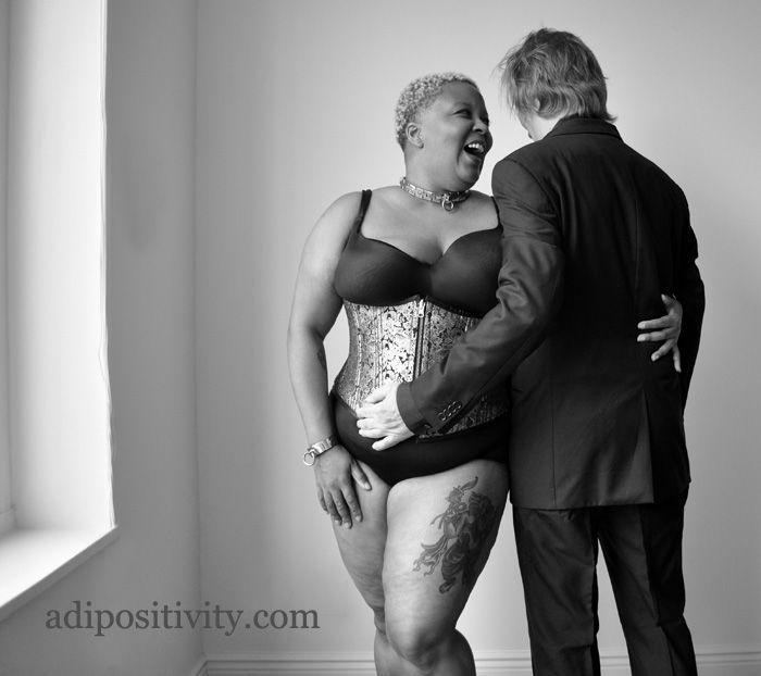 Ebony BBW for White Boyfriend