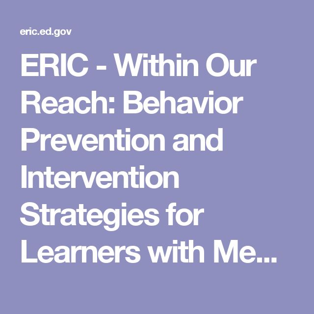 ERIC - Within Our Reach: Behavior Prevention and Intervention Strategies for Learners with Mental Retardation and Autism. MRDD Prism Series., 1998