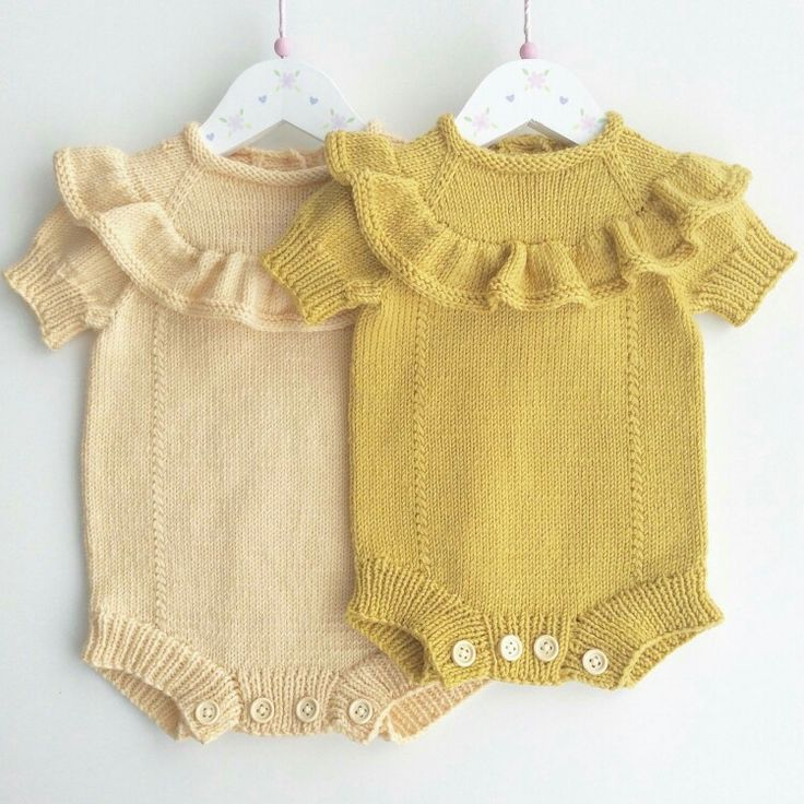 Sweet knits for baby