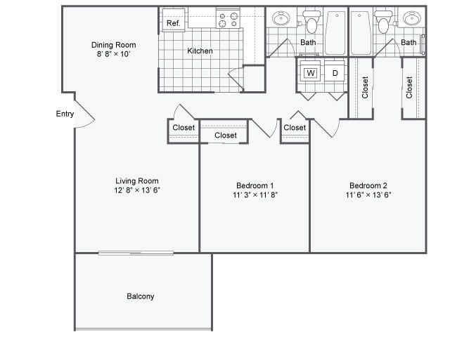 11 best loft images on pinterest loft apartment floor for Mountain bridge floor plans