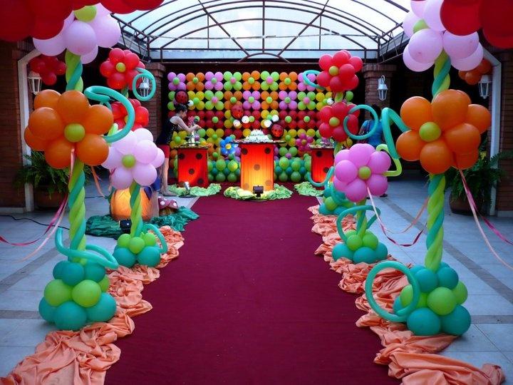 Ladybug Party - color scheme