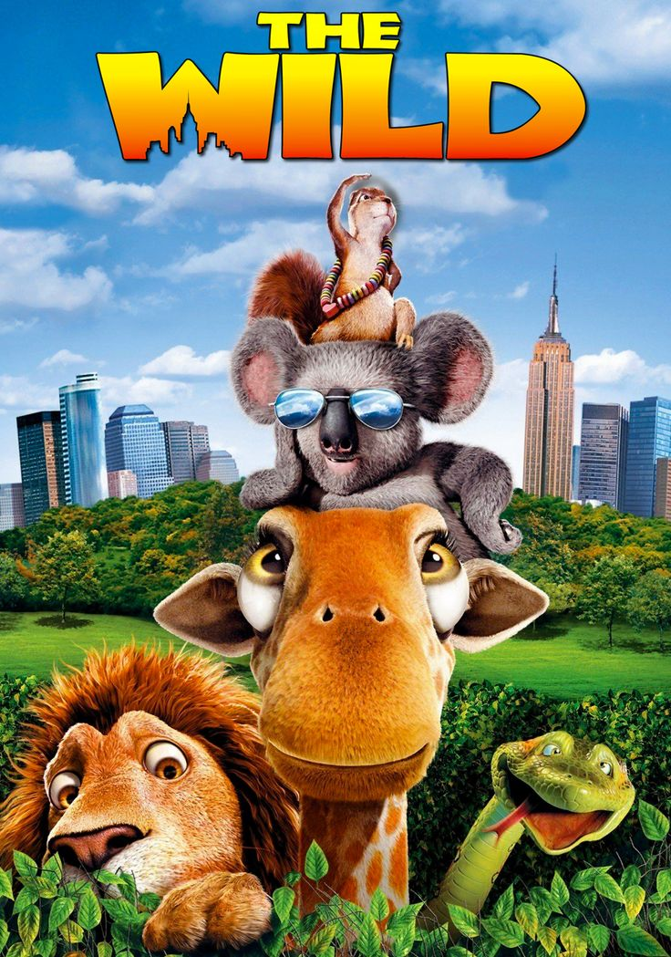 The Wild 2006 A Whole New Breed Of Tourist Wild Movie Animated Movies Wild