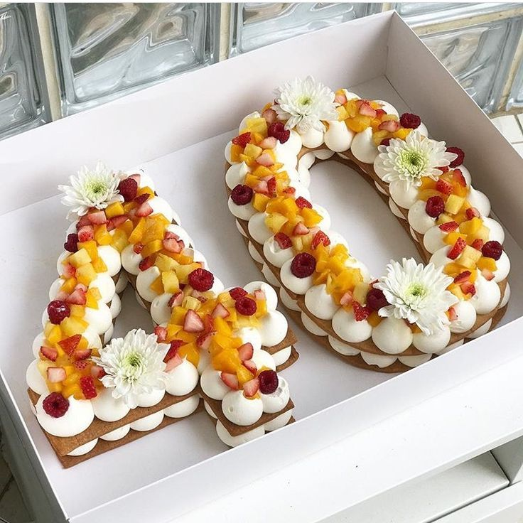 Cute birthday cake idea