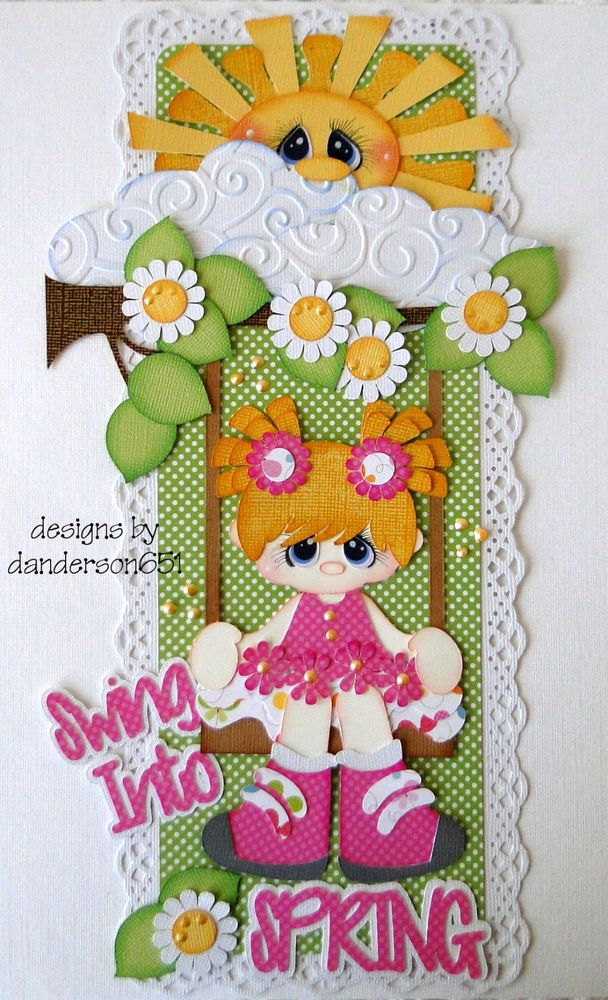 Newly listed on ebay...Swing Into Spring Border...danderson651
