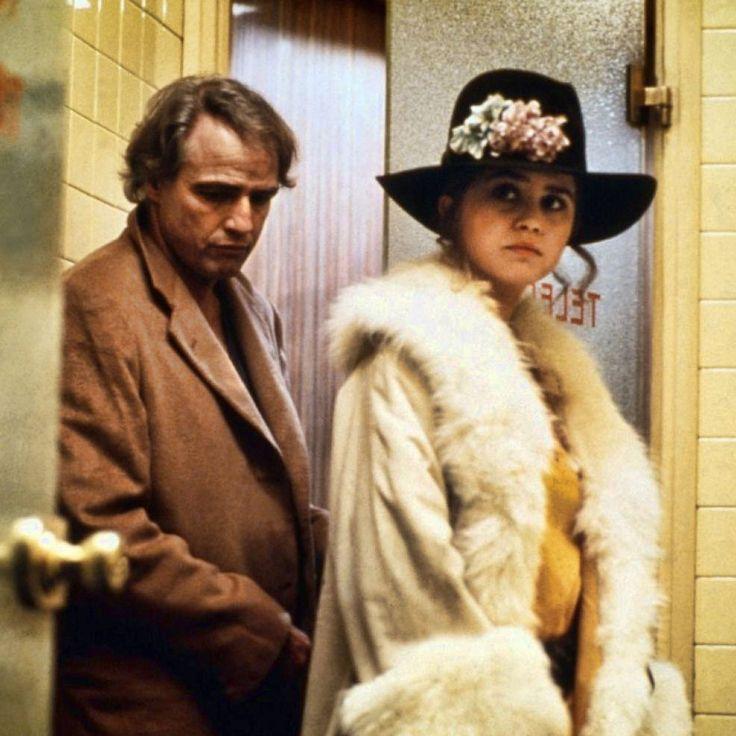 """Marlon Brando y Maria Schneider en """"El Último Tango en París"""" (Último Tango a Parigi), 1972"""