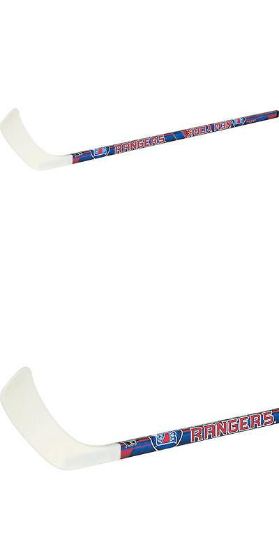 Other Ice and Roller Hockey 2911: Franklin Sports Nhl New York Rangers Right Shot Street Hockey Stick -> BUY IT NOW ONLY: $34.99 on eBay!
