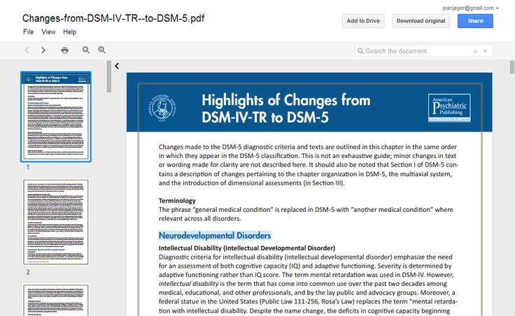 neurodevelopmental disorders dsm 5 pdf
