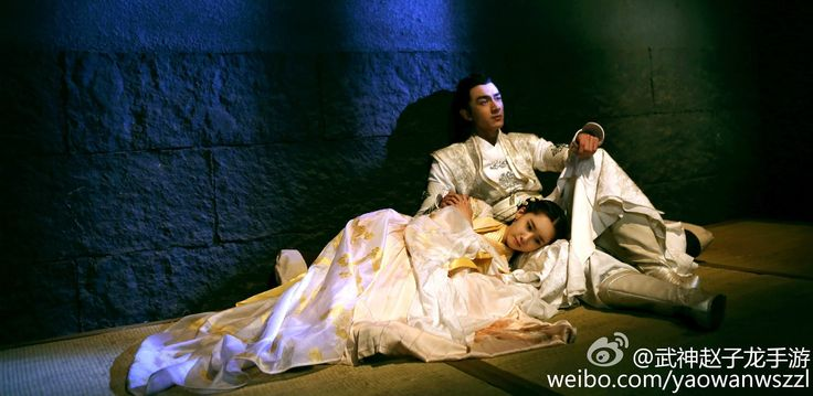 SNSD's YoonA and Kim Jung Hoon of the Chinese Drama 'God of War, Zhao Yu...