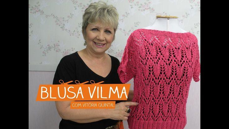 Blusa Vilma com Vitória Quintal | Vitrine do Artesanato na TV