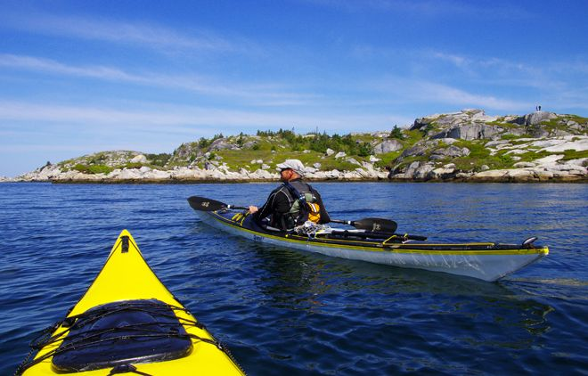 Phenomenal Kayaking Trip near Peggys Cove, Nova Scotia