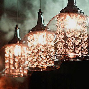 *Lights Lamps, Display Wine Glasses, Wineglass Wine, Trav'Lin Lights, House Ideas, Lights Crystals, Crystals Wineglass, Pendant Lights, Pendants Lights