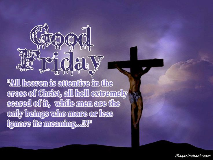 Good Friday Picture Quotes: 17 Best Good Friday Quotes On Pinterest