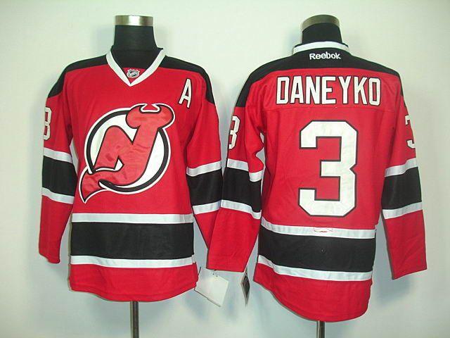 ... sale authentic mens new jersey devils 3 ken daneyko home jersey 3c2de  33b1f 68e125c58
