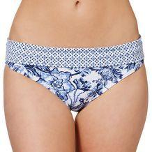 Porto Floral Foldover Bikini Briefs