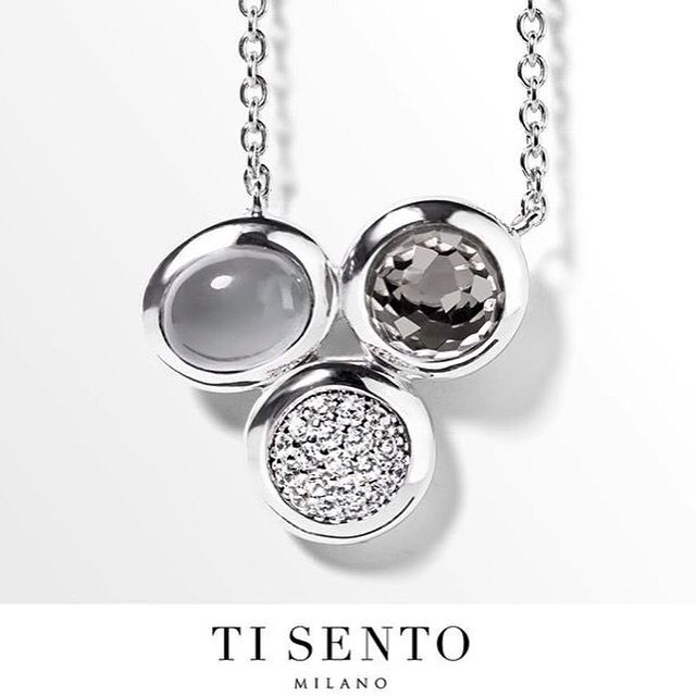 New from Ti Sento Milano! This necklace will add just the right amount of something to your outfit with its three different stones. Add just a touch of glitz with all of its glamour.  Available at  ASHLEY'S Distinctive Jewelry and Gifts  555 Day Hill Road 860-298-9542 #TiSentoMilano #SterlingSilver #TriStone #Necklace #GlitzAndGlamour #ASHLEYS #ASHLEYSjewelers #AshleysDistinctiveJewelryAndGifts #jewelry #fashion #gifts