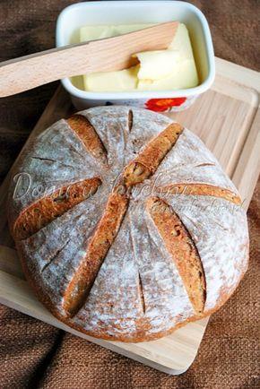 Chleb pszenny na żytnim zakwasie