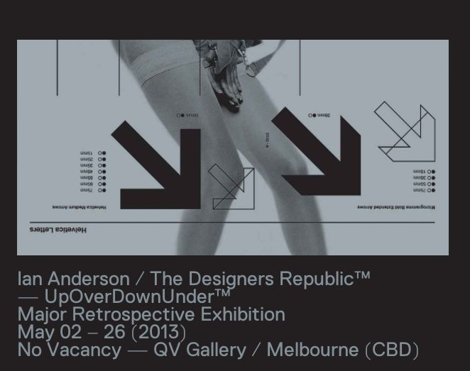 Ian anderson the designers republic web design ui for The designers republic