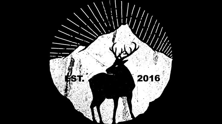 American mountain deer is a T Shirt designed by barmalizer to illustrate your…