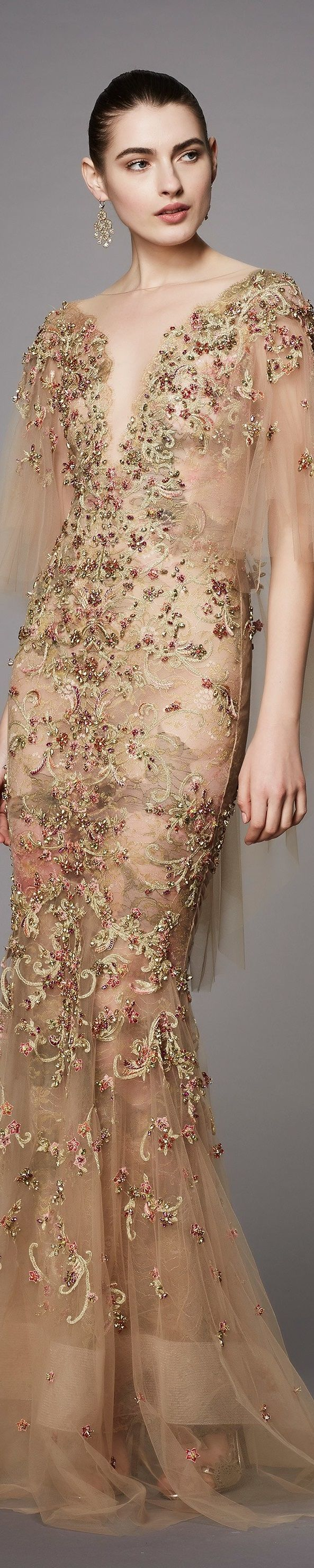 Marchesa couture pre fall 2017 vogue