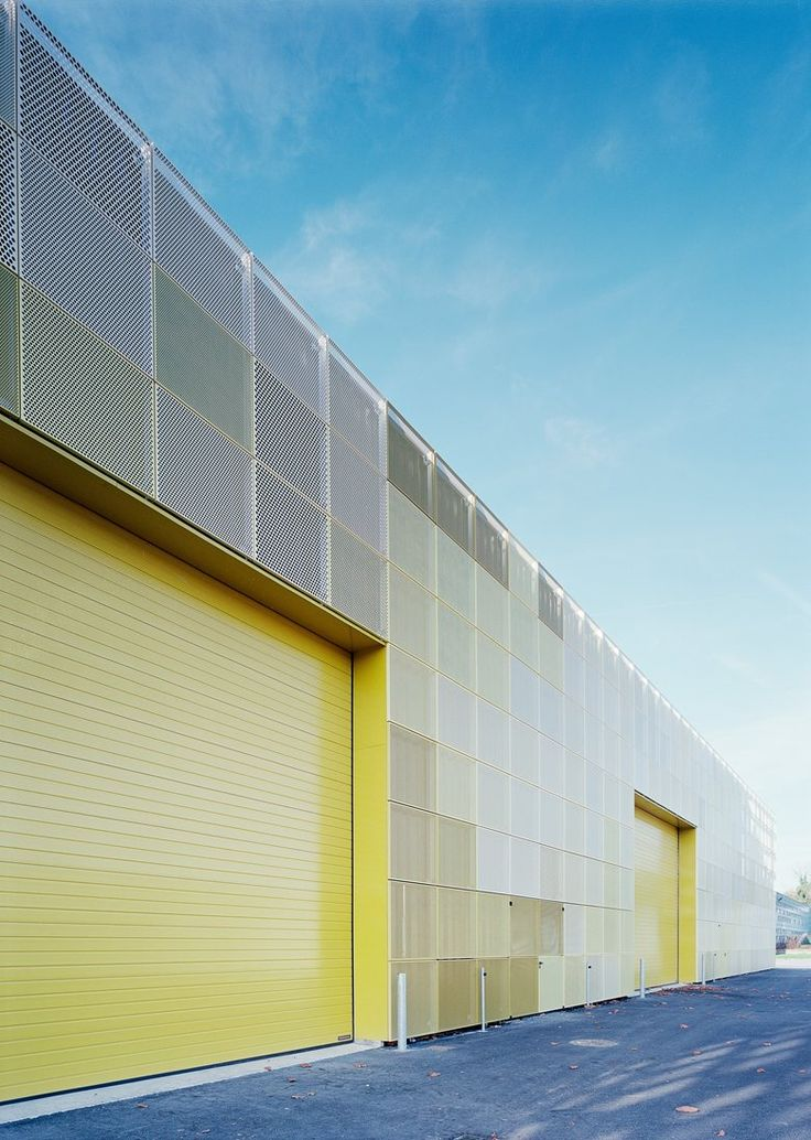 Highschool Extension, Île-de-France, 2014 - Ateliers O-S architectes #yellow