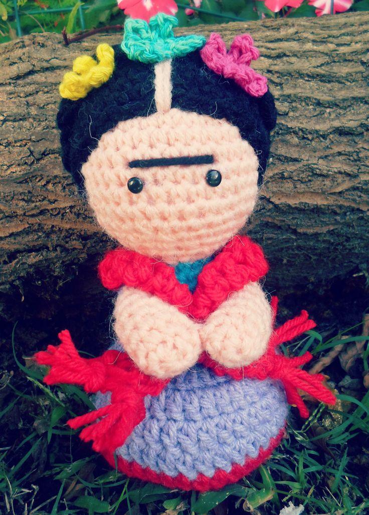Frida amigurumi by reinamerenguela